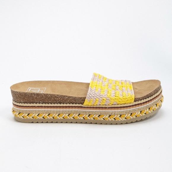 72e9cfed1aa L4L by Lust for Life Platform Slide Sandals
